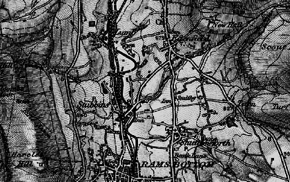 Old map of Edenfield in 1896