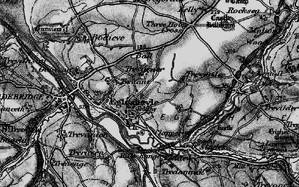 Old map of Egloshayle in 1895