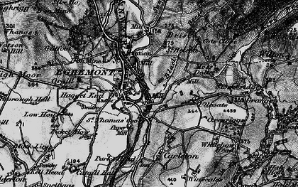Old map of Egremont in 1897