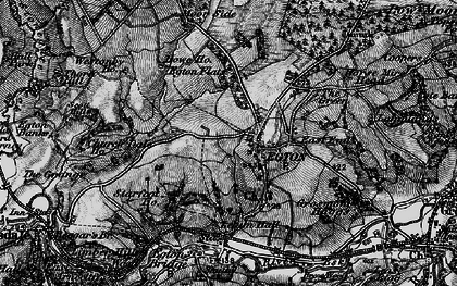 Old map of Egton in 1898