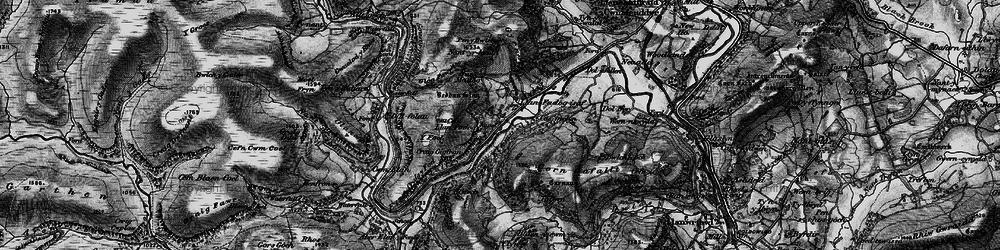 Old map of Y Gurn in 1898