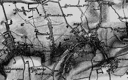 Old map of Elcombe in 1898