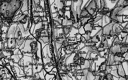 Old map of Banton Ho in 1898