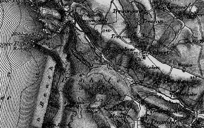 Old map of Ellenglaze in 1895