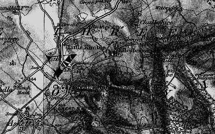 Old map of Ellesborough in 1895