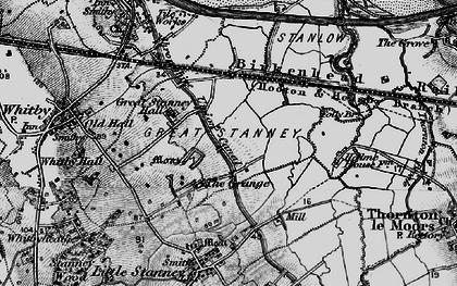 Old map of Ellesmere Port in 1896
