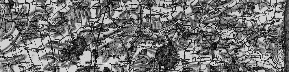 Old map of Willingham Hall in 1898