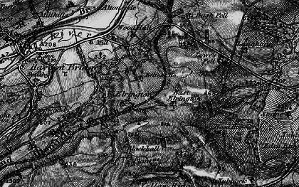 Old map of West Nubbock in 1897