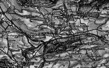 Old map of Embsay in 1898