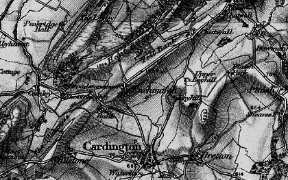 Old map of Yell Bank in 1899