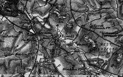 Old map of Yarn Hill in 1896