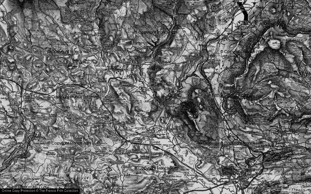 Old Map of Eshton, 1898 in 1898