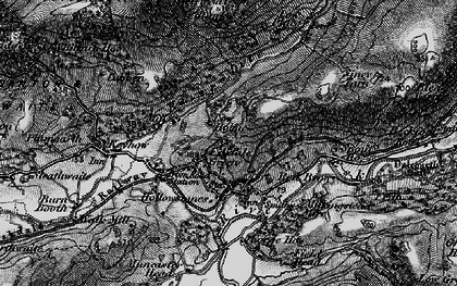 Old map of Eskdale Green in 1897