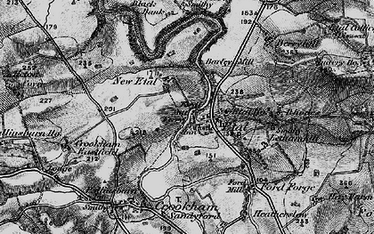 Old map of Letham Hill Haugh in 1897