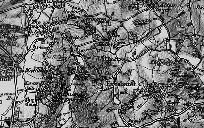 Old map of Ashen Coppice in 1898