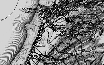 Old map of Balnakeil Forge in 1897