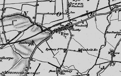 Old map of Willow Hall in 1898