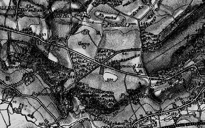 Old map of Ashton Hill Plantn in 1898