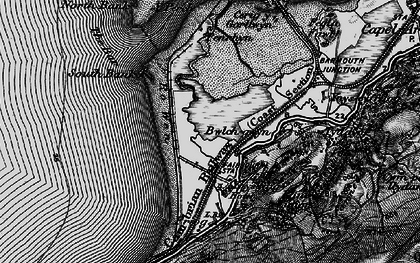 Old map of Fairbourne in 1899