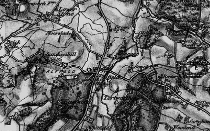 Old map of Falfield in 1897