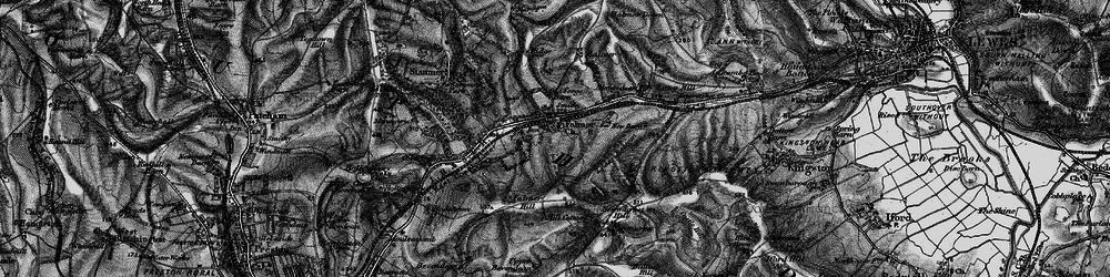 Old map of Falmer in 1895