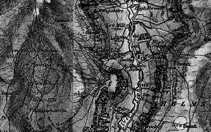 Old map of Wetherhouse Moor in 1898
