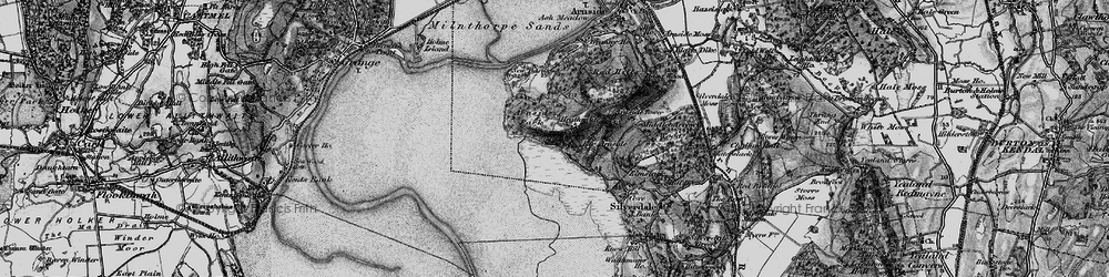 Old map of White Creek in 1898