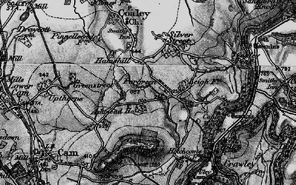Old map of Ashmead Ho in 1897