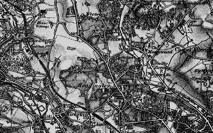 Old map of Far Headingley in 1898