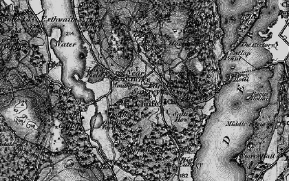 Old map of Far Sawrey in 1897