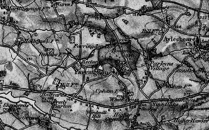 Old map of Farringdon in 1898