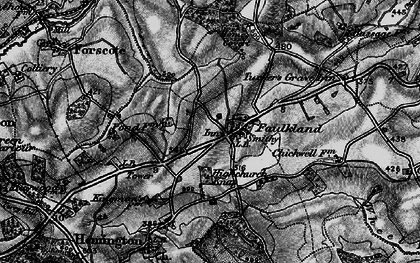 Old map of Faulkland in 1898