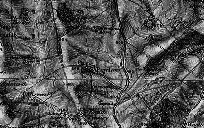 Old map of Woolley Down in 1895