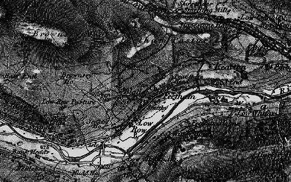 Old map of Feetham in 1897
