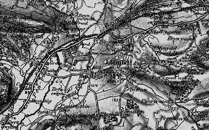 Old map of Llanilid in 1897