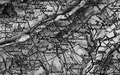 Old map of Green Head in 1898