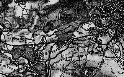 Old map of Witton Country Park in 1896