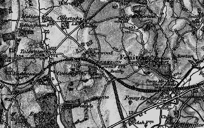 Old map of Feniton in 1898