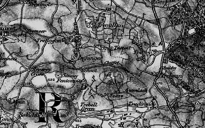 Old map of Fenton Pits in 1895