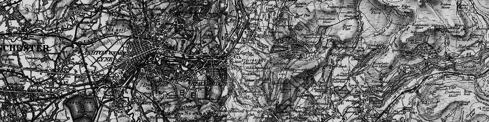 Old map of Wild Bank in 1896