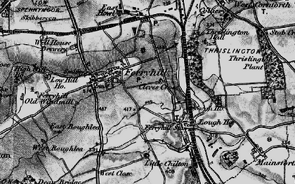 Old map of Ferryhill in 1897