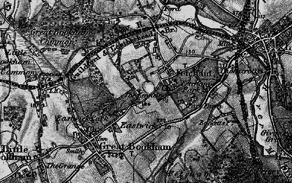 Old map of Fetcham in 1896