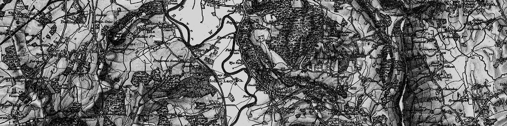Old map of Wood View in 1898