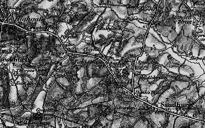 Old map of Alderden Manor in 1895