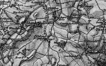 Old map of Whitmore Coppice in 1898