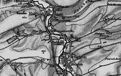 Old map of Fifield in 1898