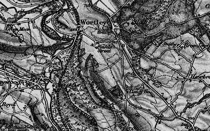 Old map of Wharncliffe Resr in 1896