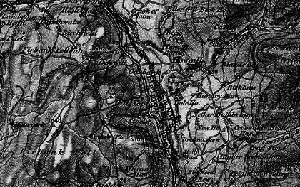 Old map of Whinny Haw in 1897