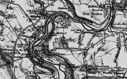 Old map of Badger Bank in 1898