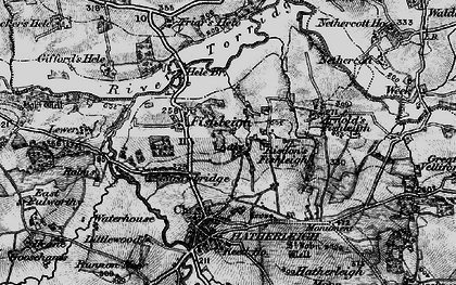 Old map of Lewer in 1898
